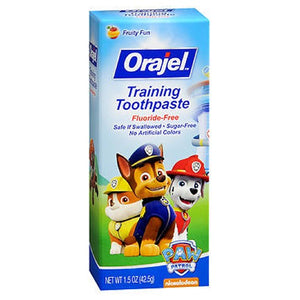 Orajel Toddler Toothpaste - Thomas 1.5 oz