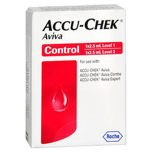 Accu-Chek Aviva Control Solution - 2 x 2.5 Ml