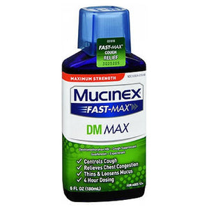 Mucinex Fast-Max Dm Adult Liquid - 6 oz