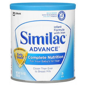 Similac Advance Infant Formula With Iron - 12.4 oz