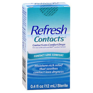 Refresh Contact Lens Comfort Moisture Drops - 12 ml