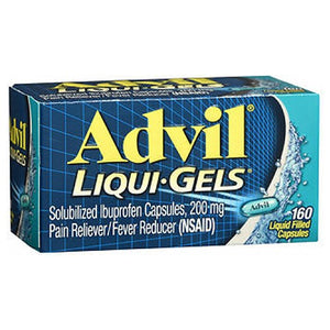 Advil Advanced Medicine For Pain 160 Liqui Gels