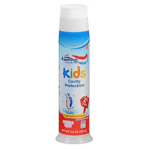 Aquafresh Triple Protection Fluriode Toothpaste For Kids Bubble Mint 4.6 oz by Abreva