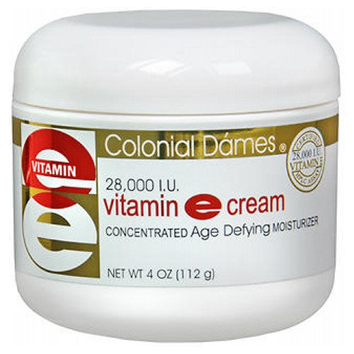 Colonial Dames Vitamin E Cream 4 Oz by Colonial Dames Vitamin E cream