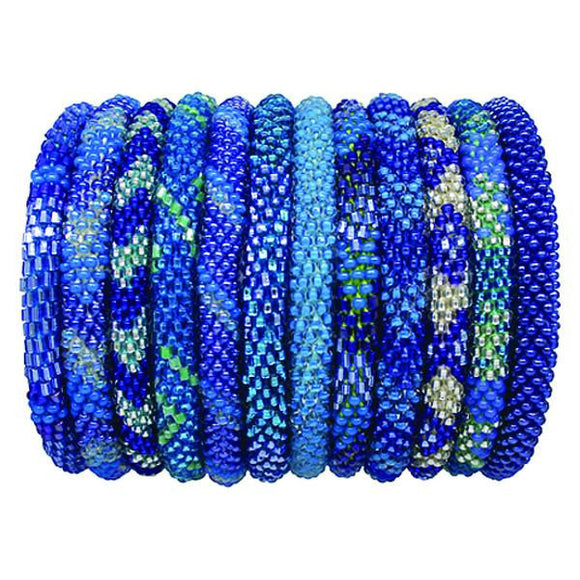 Roll-On Stretch Bracelet - Elephant Highway  - 1