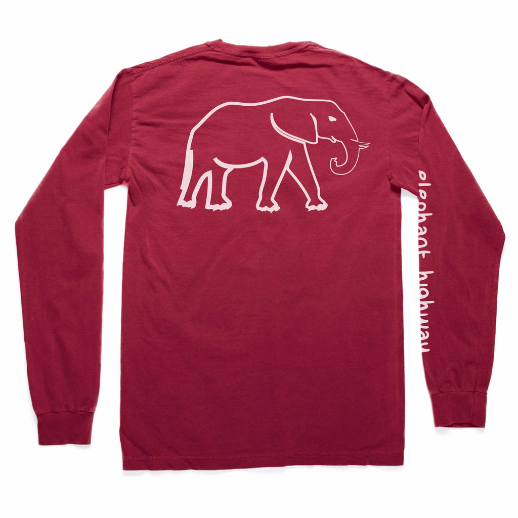 The Long Sleeve Tee - Elephant Highway  - 4