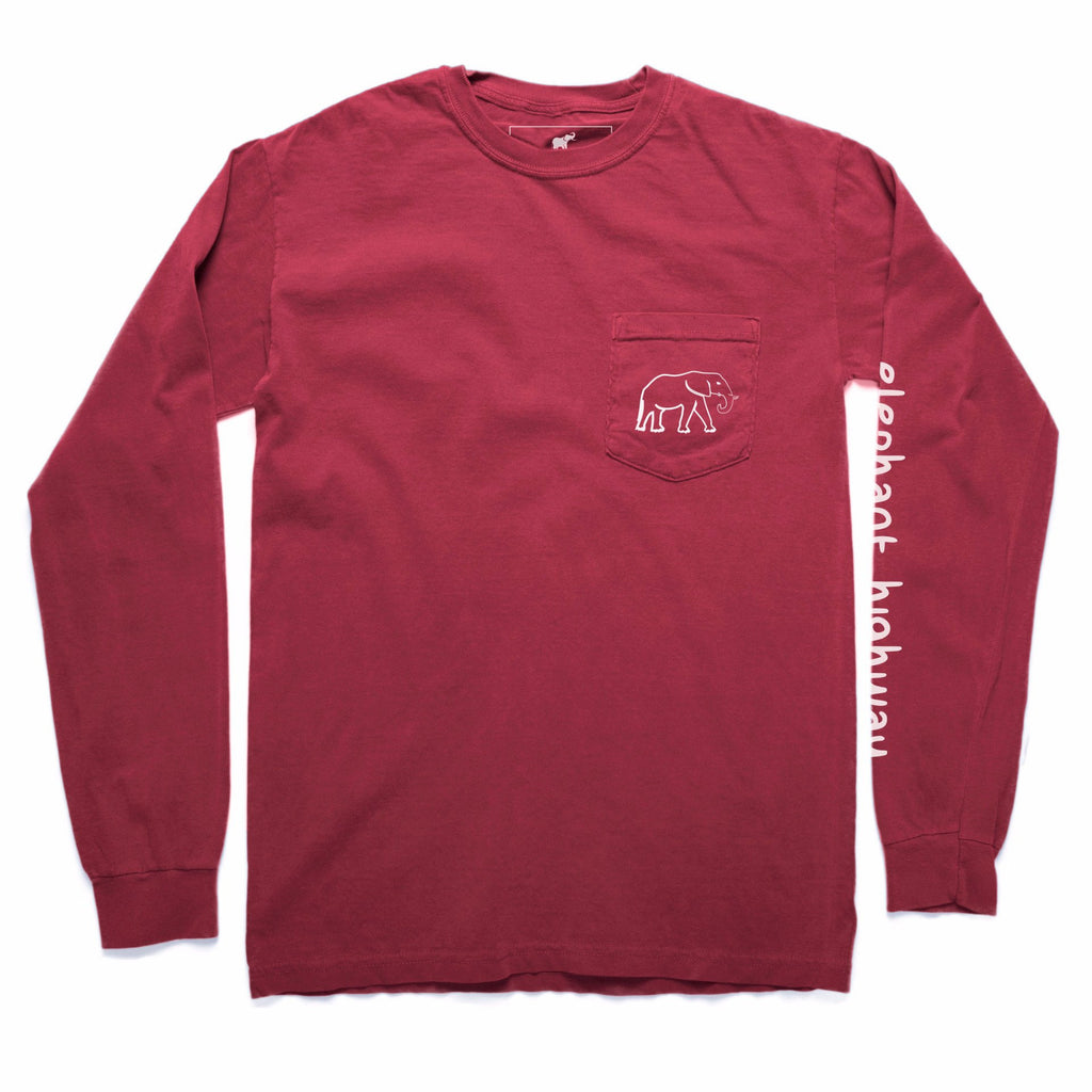 The Long Sleeve Tee - Elephant Highway  - 3