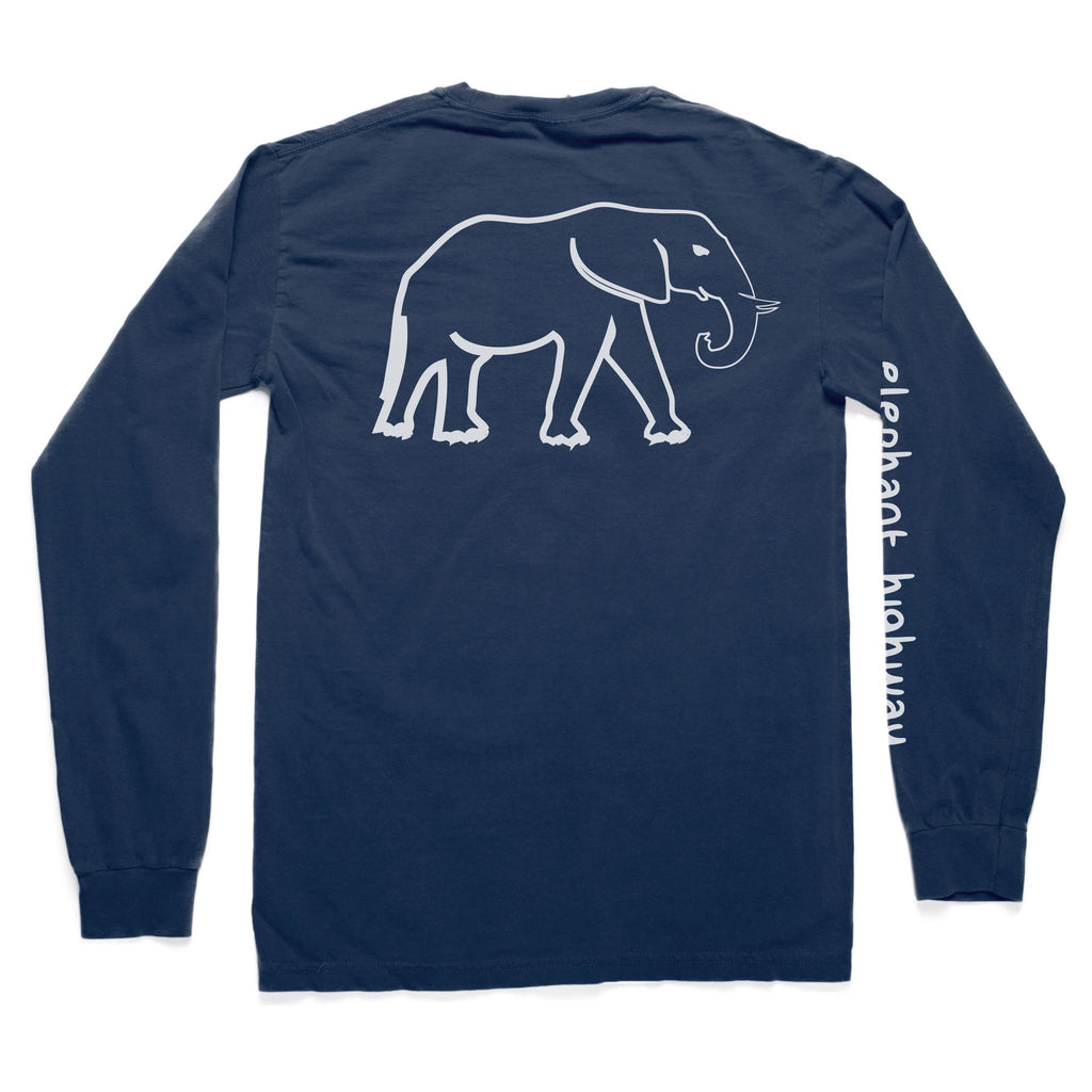The Long Sleeve Tee - Elephant Highway  - 2