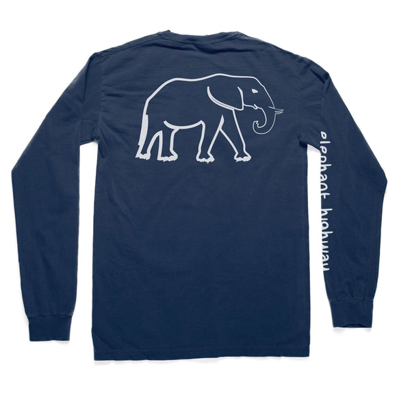 The Long Sleeve Tee - Elephant Highway  - 1