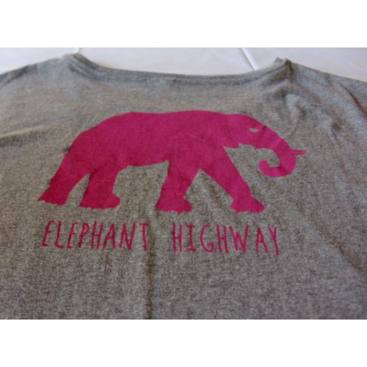 Scoop Neck Tee - Elephant Highway  - 5