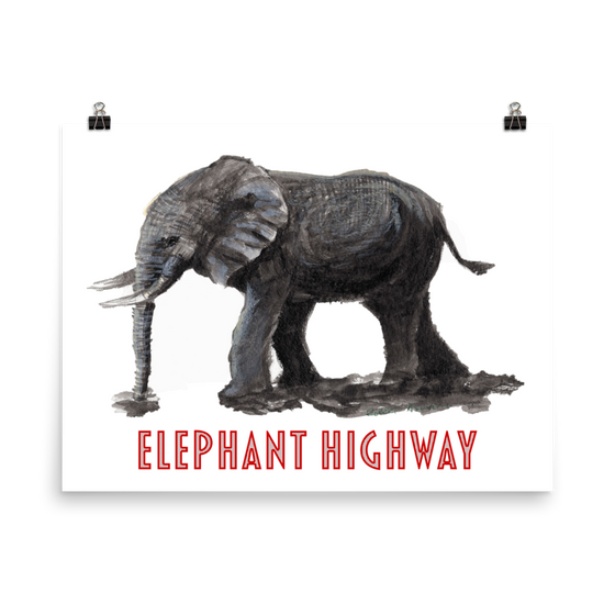 Elephant Highway Poster