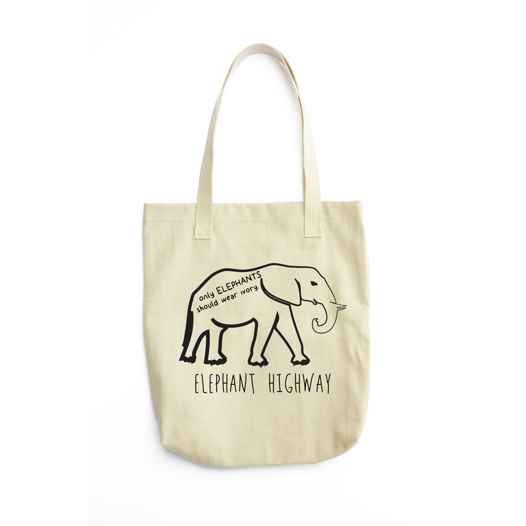 Elephants and Ivory Tote - Elephant Highway