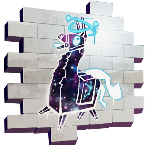 Galaxy Llama Spray + 1K VBucks