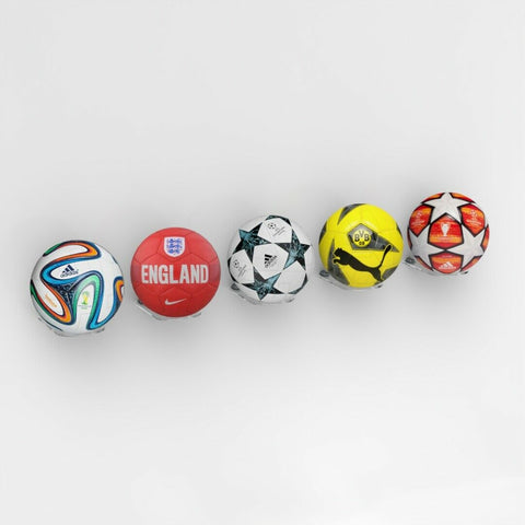 Pk of 5 Acrylic Football Display Stand - Shelfs