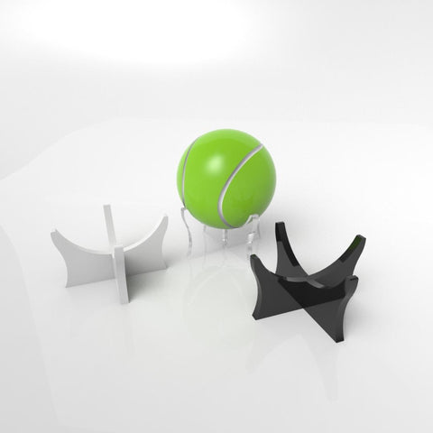 Premium Acrylic Tennis Ball Display Stand