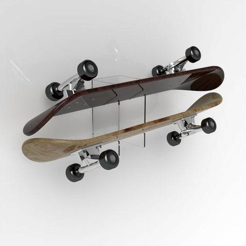 Double Skateboard Brackets