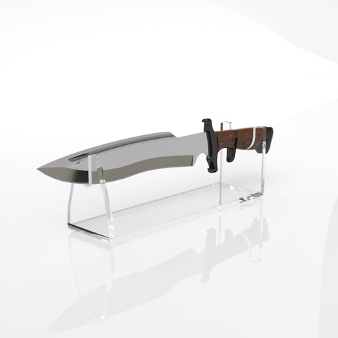 Premium Clear Acrylic Knife Stand