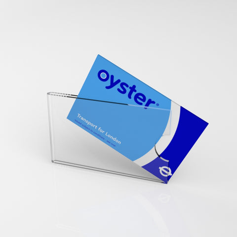 Clear Card Holder / Travel, ID Rail Card