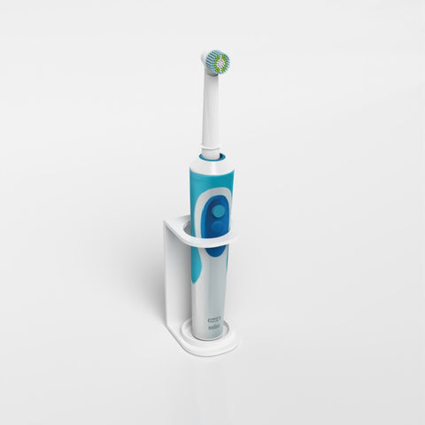 Wall Mounted & Freestanding Single Electric Toothbrush Holder