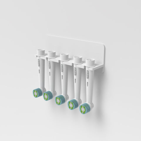 Wall Mounted Electric Toothbrush Oral B Heads Holder