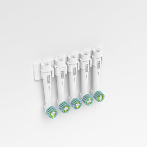 Wall Mounted Oral B Toothbrush Heads Holder