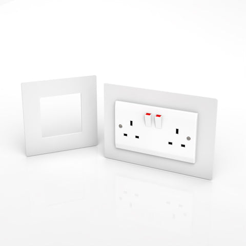 Double & Single Socket / Switch Surround / Acrylic Finger Plate