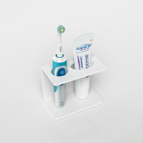 Electric Toothbrush & Toothpaste Holder