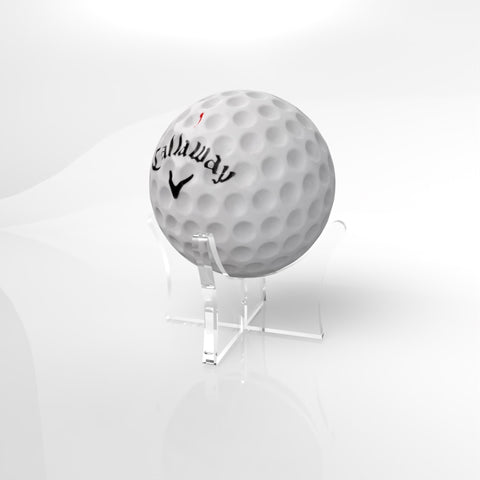 Acrylic Golf Ball Display Stand