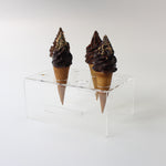 Acrylic Ice Cream Cone Holder - 8 Hole