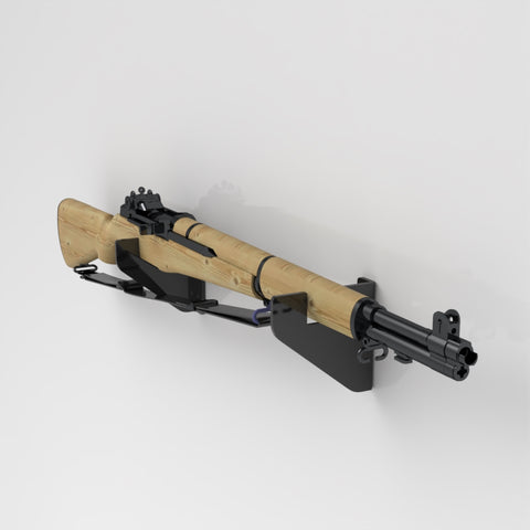 Wall Mount Rifle Brackets / Rifle Display Stand / Weapon Stand