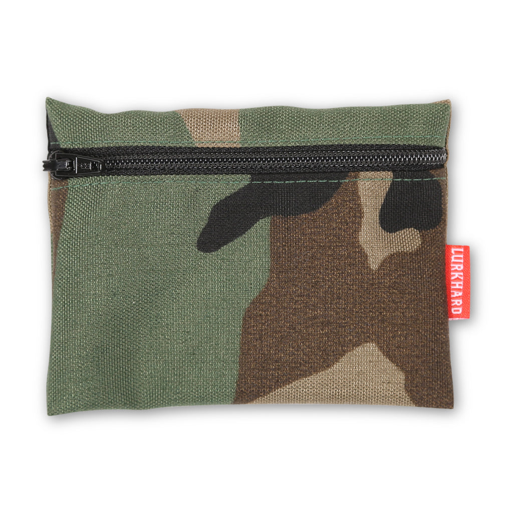 Woodland Camo Stash Pouch
