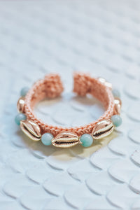 Skinny Cowry Bangle