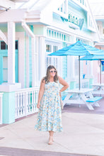 Load image into Gallery viewer, Walk in the Park Dress Mint Blue