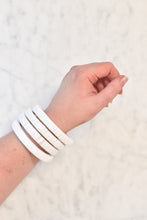 Load image into Gallery viewer, Bahama Bangle in White