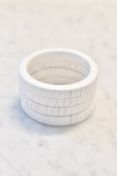 Bahama Bangle in White