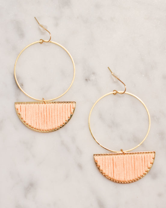 Wedge & Hoop Earrings