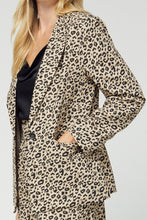 Load image into Gallery viewer, All In Leopard Blazer