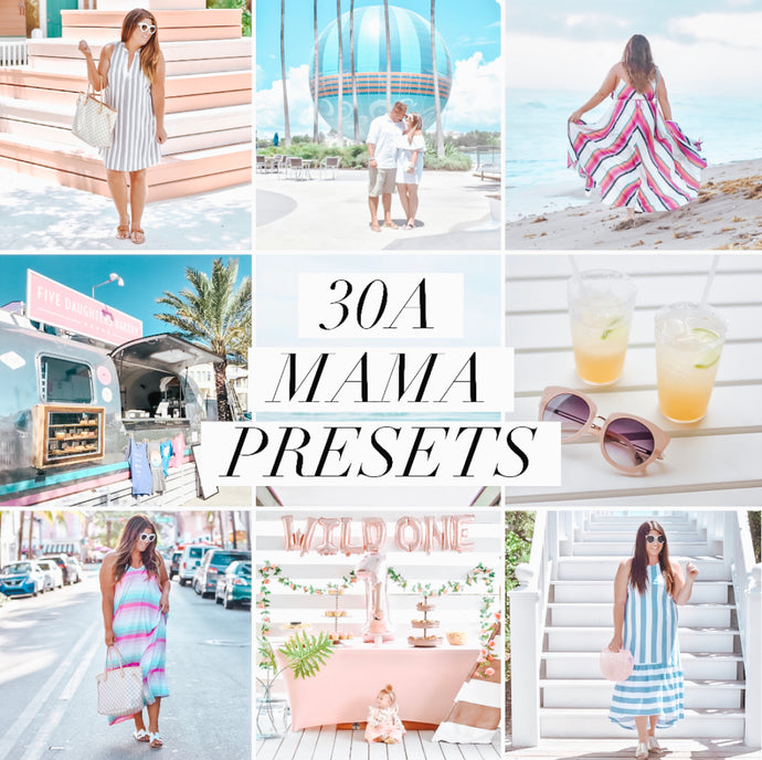 30A Mama Lightroom Preset - MOBILE