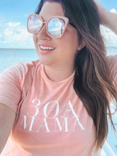 Load image into Gallery viewer, Ladies Peach 30A Mama Tee