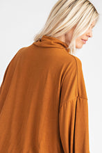 Load image into Gallery viewer, All the Feels Mock Neck Top