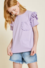 Load image into Gallery viewer, BFF Lavender Top (Girls)