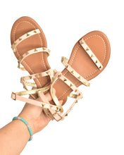 Load image into Gallery viewer, On the Boardwalk Stud Sandals