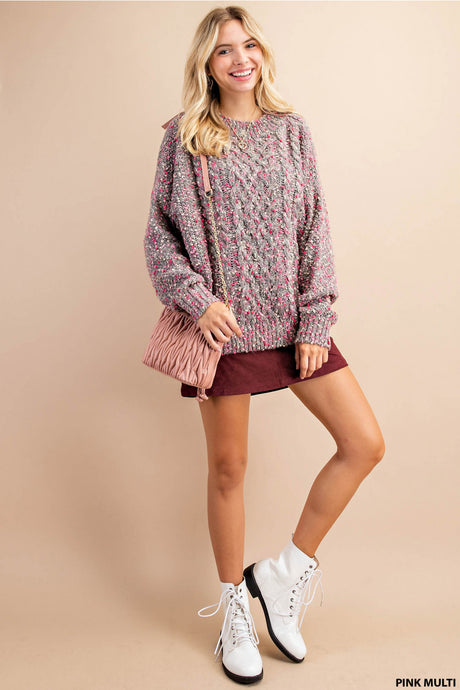 Pink Pebble Sweater