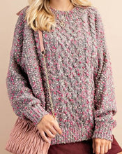 Load image into Gallery viewer, Pink Pebble Sweater