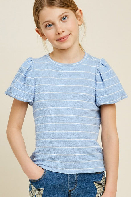 Seas the Day Stripe Top (Girls)