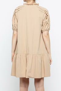 Taupe It Off Dress