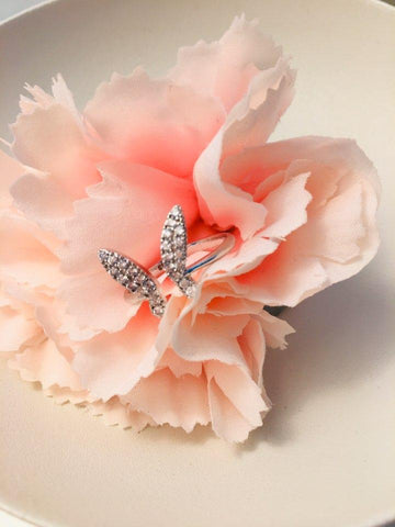 925 silver butterfly ring