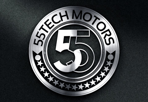 55tech Motors New Logo