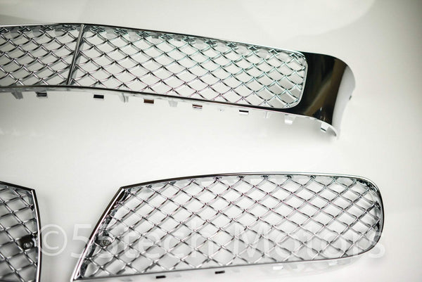 Bentley Continental Flying Spur 4D Front Lower Mesh Bumper Grille Grill 05~09 - 55tech Motors