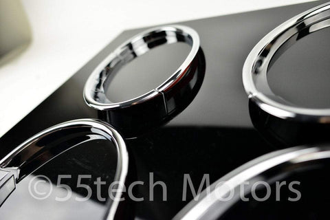 Continental Flying Spur 2006-2012 Chrome headlight Trims - 55tech Motors